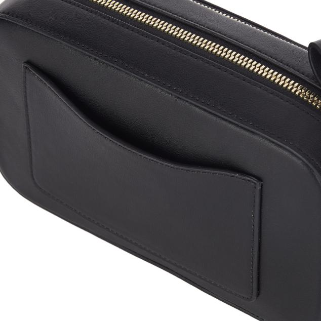 PANINI metal logo solid bag (Black/Gold)