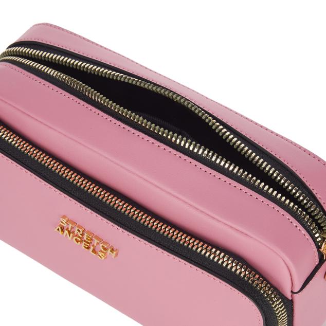PANINI metal logo solid bag (Pink)
