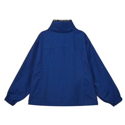 SA 로고 테잎 숏 점퍼 (블루)