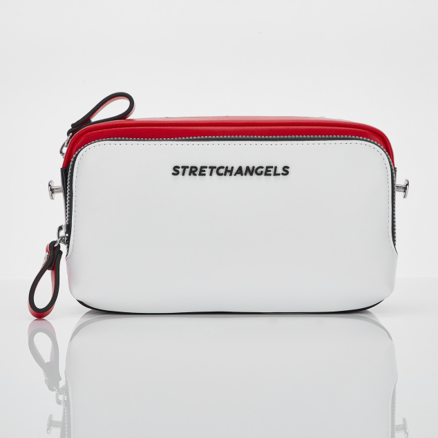 PANINI color block bag (Red)