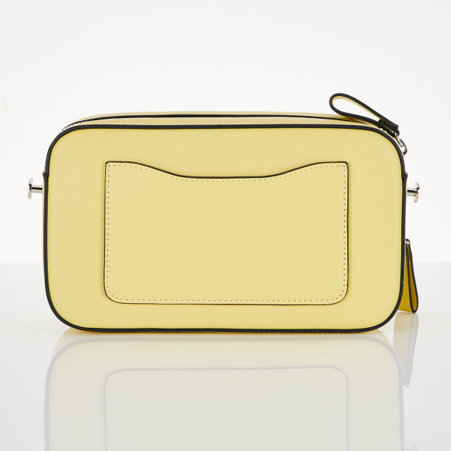 PANINI metal logo solid bag (Yellow)