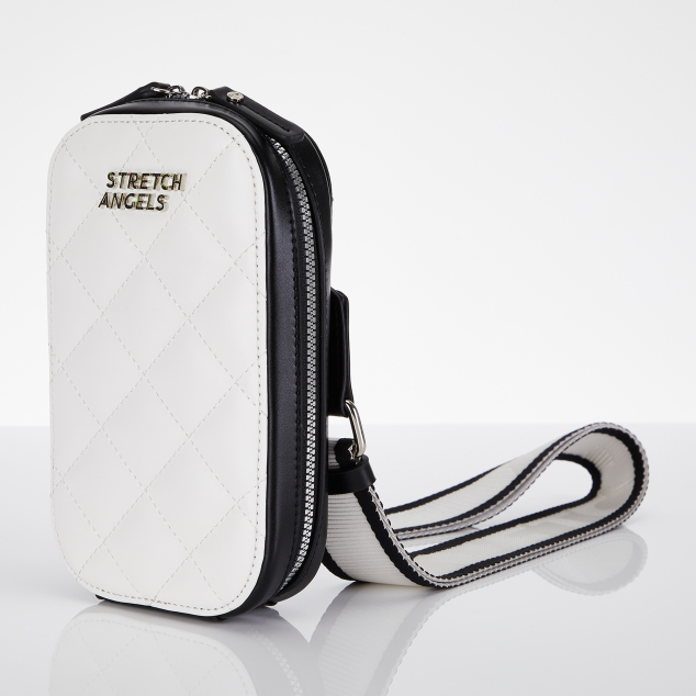 Waffle handy bag (Off white)