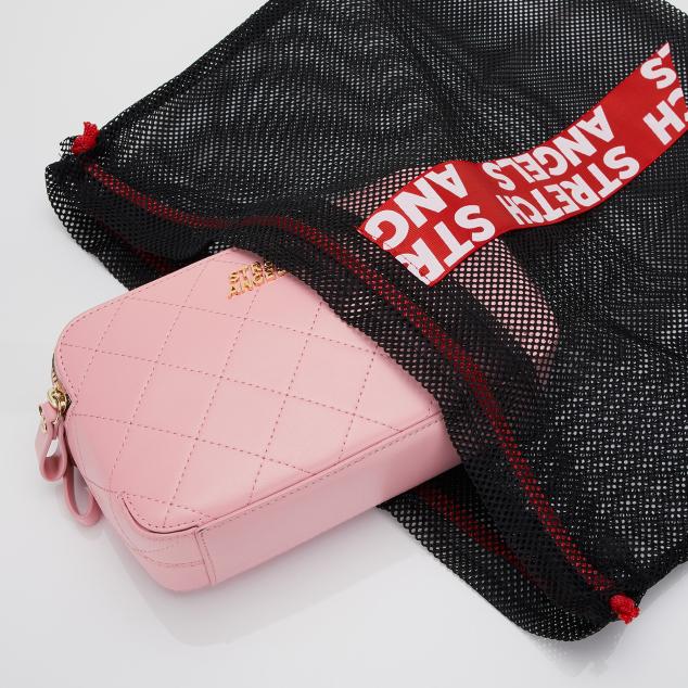 PANINI waffle bag (Light pink)