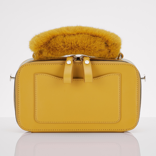Flap PANINI bag (Mustard)