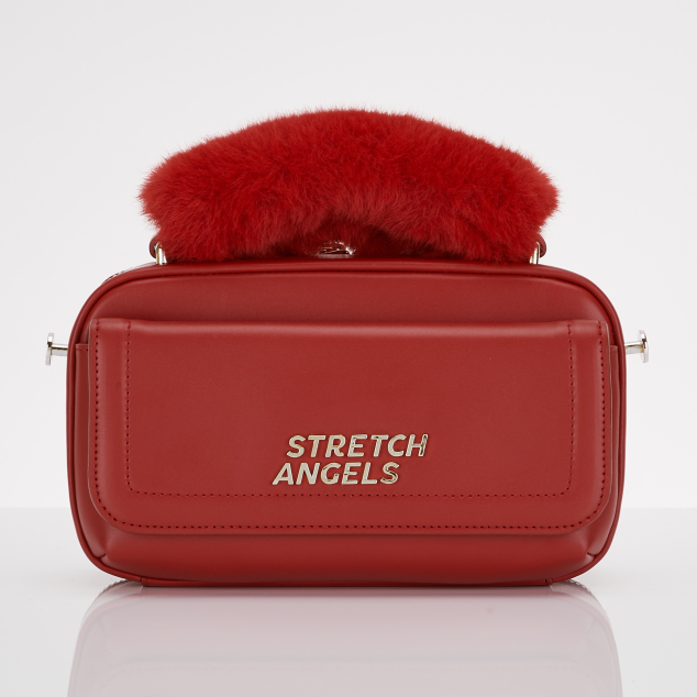 Flap PANINI bag (Red)