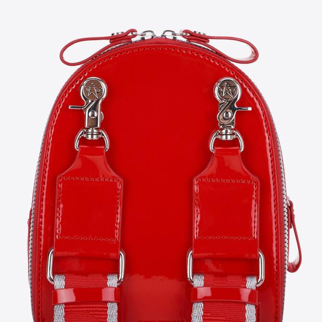 Waffle PANINI backpack (Red)