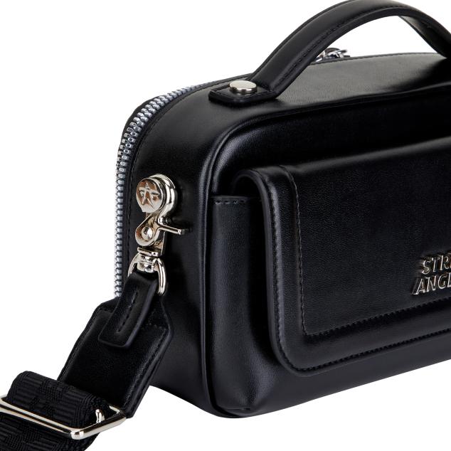 Flap multi PANINI bag (Black)