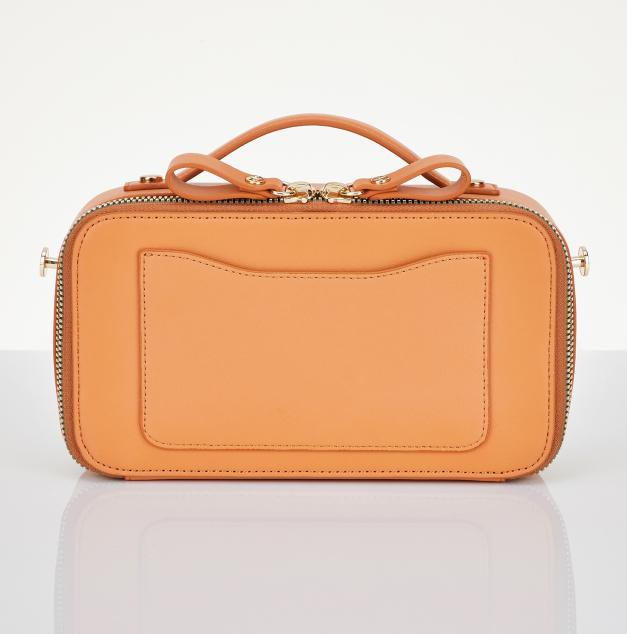 Flap multi PANINI bag (Camel)