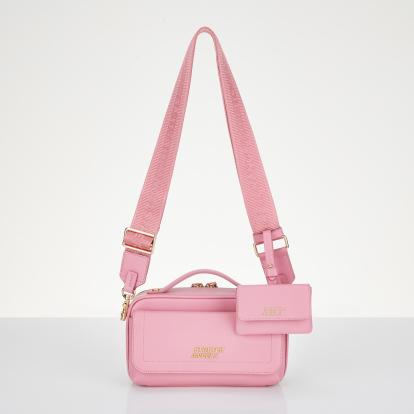 플랩 멀티 파니니백 (핑크)