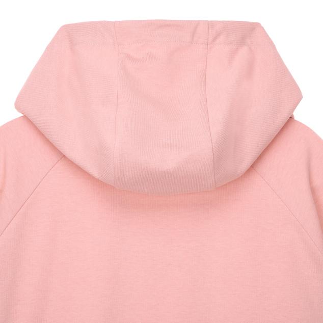 Basic crop hood T-shirts (Light pink)