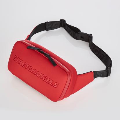 [N.E.O] Round SQ belt bag (Red)