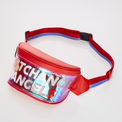 [E.N.M] Aurora logo fanny-bag (Red)