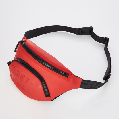 [S.P.U] Round pocket fanny bag (Red)