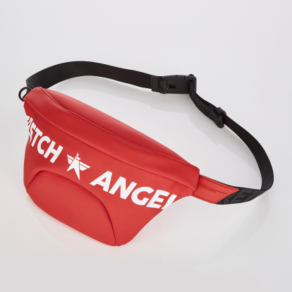 [S.P.U] Round volume fanny bag S (Red)
