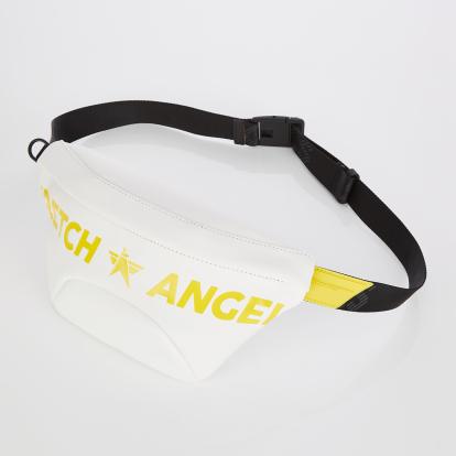 [S.P.U] Round volume fanny bag S (White)