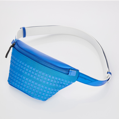 [S.P.U] Block volume fanny-bag (Blue)