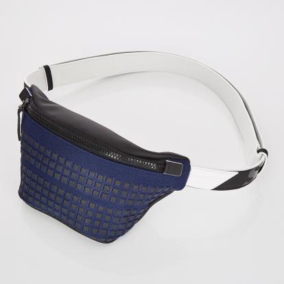 [S.P.U] Block volume fanny-bag (Navy)