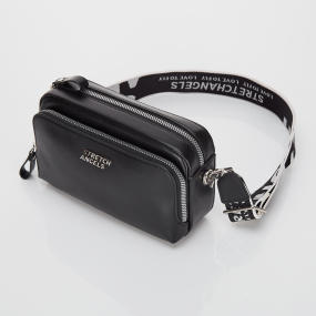 PANINI metal logo solid bag (Black)