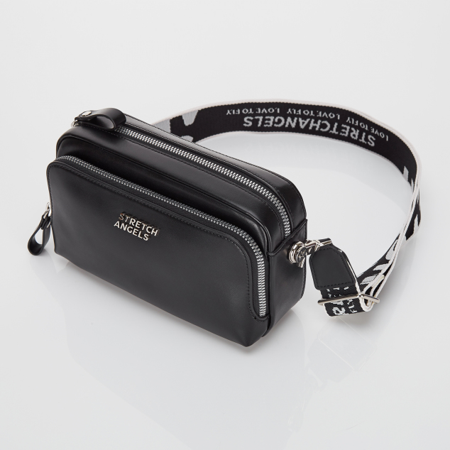 PANINI metal logo solid bag (Black)
