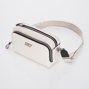 PANINI metal logo solid bag (Ivory)