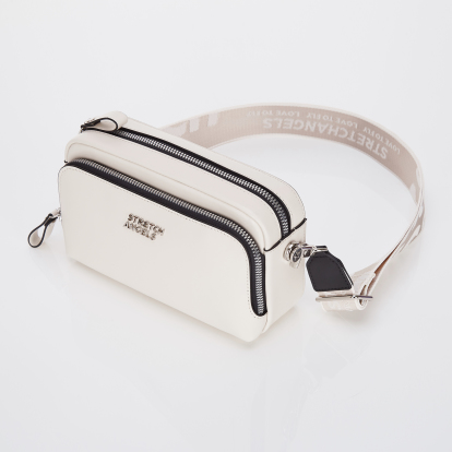 PANINI metal logo solid bag (Ivory)