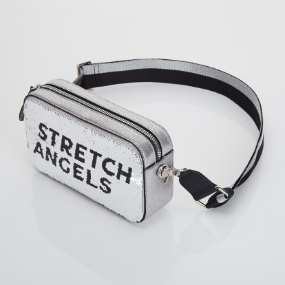 PANINI double spangle bag (Silver)