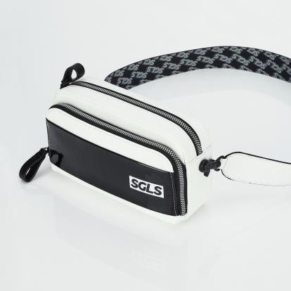 PANINI SGLS logo enamel bag (Black)