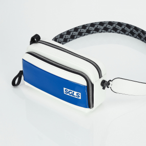 PANINI SGLS logo enamel bag (Blue)