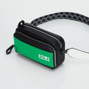 PANINI SGLS logo enamel bag (Green)