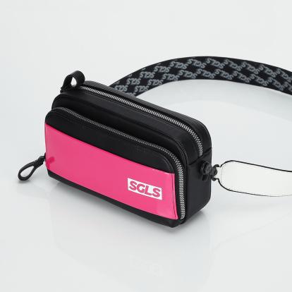 SGLS 에나맬 파니니백 (핑크)