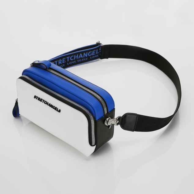 PANINI color block bag (Blue)