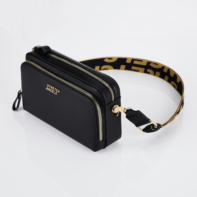 Big PANINI bag (Black/Gold)