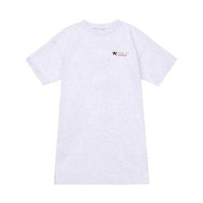 SA 티셔츠 원피스 (멜란지 그레이)