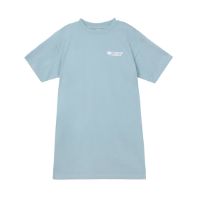 SA 티셔츠 원피스 (민트)