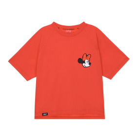 Minnie-mouse crop T-shirts (Red)