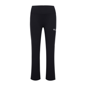 SA Boots-cut leggings (Black)