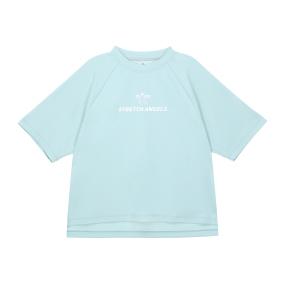 SA basic semi-crop T-shirts (Mint)