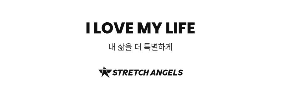 스트레치 엔젤스(STRETCH ANGELS) 프레즐백_오프화이트